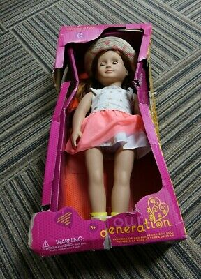 Clementine 18-inch Regular Non-posable Fashion Doll Our Generation for Ages 3 /& Up