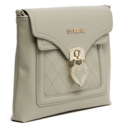 Taupe À Authentique Sac Gris Bandoulière Neuf Moschino qF71Iw