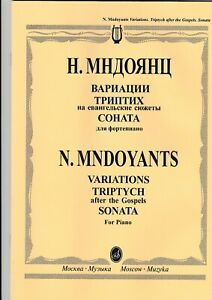 Variations Initiative N.mndoyants Triptych After The Gospels Sonata For Piano.