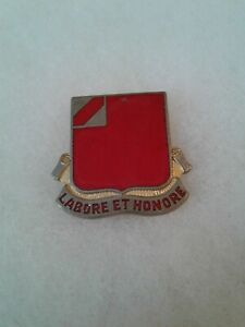 Authentic-US-Army-22nd-Armored-Field-Artillery-Battalion-DI-DUI-Crest-Insignia