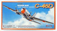 Platz PD-21 J.A.S.D.F C-46D 1/144 Scale Plastic Model Kit