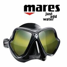 Mares X Vision Ultra Ls - Mirror Green - Black Silicone - Model 2017