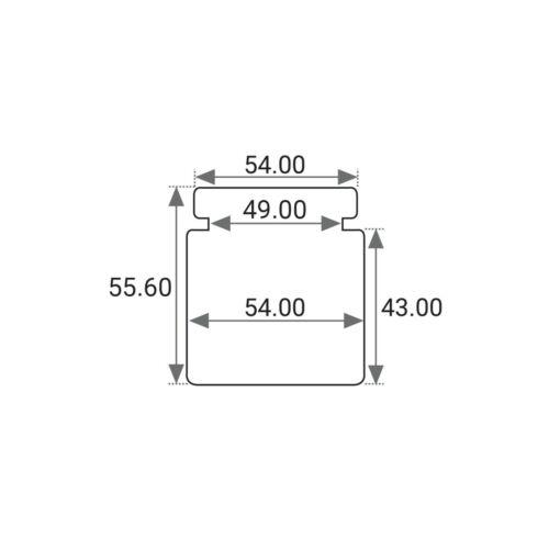 RENAULT SCENIC inc GRAND MK2 SCR0030MX2 2X FRONT CALIPER REPAIR KITS PISTON FIT