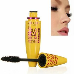 Mascara-Volume-Brosse-Express-Noir-Long-Extension-Cils-Yeux-Durable-Maquillage