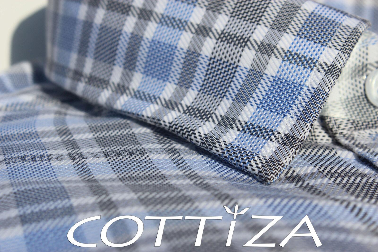 COTTIZA - 100% Egyptian Cotton Geschäft Formal Dress Shirt