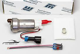 460LPH E85 In-Tank Fuel Pump+FITTING KIT FOR SR20 S13 180SX Genuine WALBRO