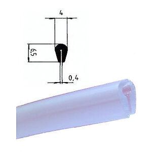 Häufig EUTRAS Kantenschutz KSO4004 TRANSPARENT 0,4 -1,5 mm PVC Keder U UH11