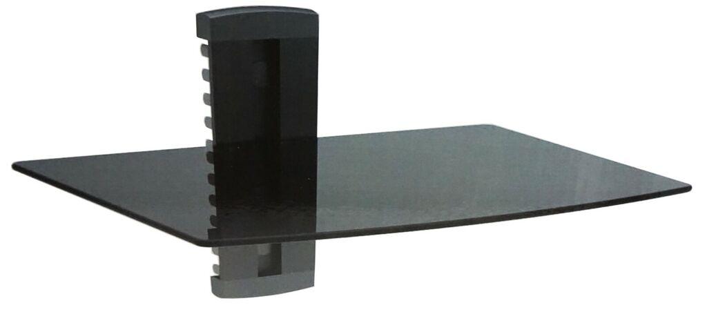 UAX Universal Audio Video Component Tempered Glass Shelf Wall Mount   Ebay