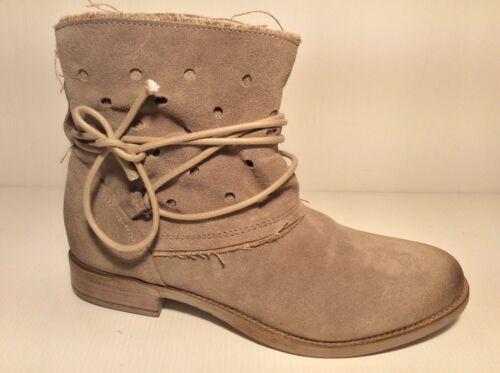 Produit Italien Bas Gros Talon Cuir Chaussures Femme Bottes Bottines Sable 25 pxCwwAq