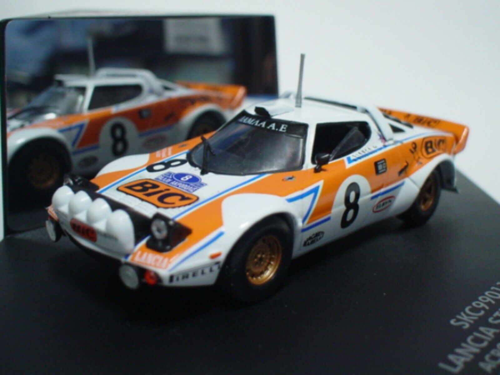 WOW EXTREMELY  RARE Lancia Stratos HF 8 Bic Acropolis 1978 WRC 1 43 Vitesse  HPI  à vendre en ligne