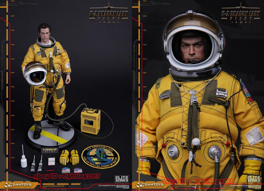 DAMTOYS 1 6 78030 U-2 Macho Figura Modelo Dragon Lady preEstrellaan colección de juguetes en existencias