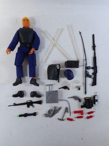 Figurine d'action policière de Ljn Swat Mccabe, pièces supplémentaires 1975, urgence