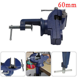 Degree Rotating Mini Table Bench Clamp Vice Swivel Base MM - Rotating work table