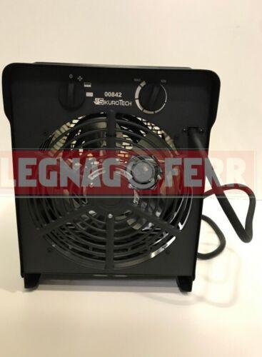 Stufa Elettrica TermoVentilatore Trifase 4500//9000W Fino a 1063 m3//h Sikurotech