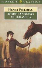 Joseph Andrews and Shamela Henry Fielding Book Oxford University Press