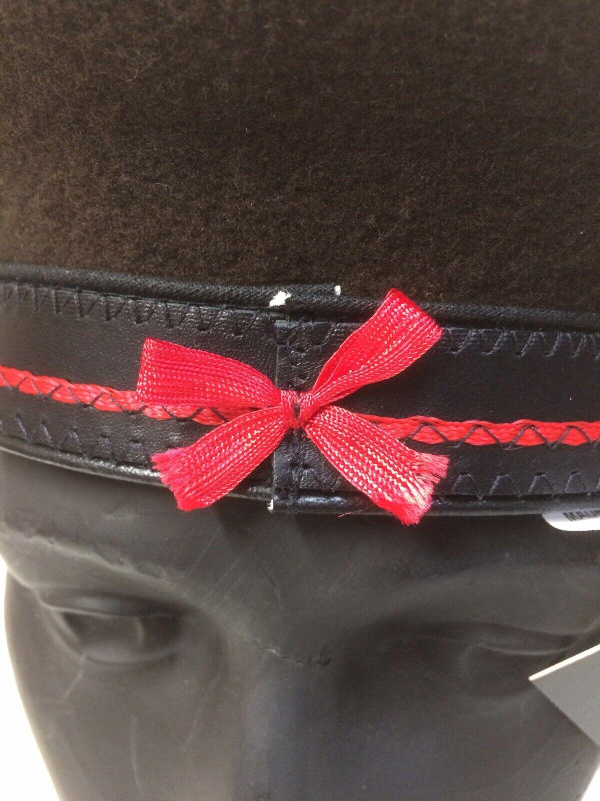 Laulhere Luxury Brown Basque Beret 100/% Wool Arniga 9 diameter