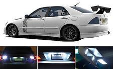 LED for Lexus IS 300  Xenon White LED License Plate/Tag LED Lights Bulbs (2 pcs)