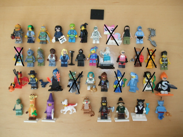 Lego Minifigures, Lego Serie+Movie Figurer, PRIS PR. STK.…