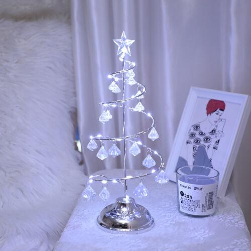 LED Nachttischlampe Tischlampe Wohnzimmerlampe Tischlampe Weihnachtsbaum Dekor