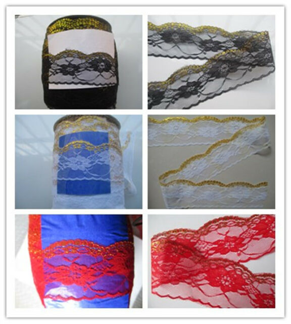 Wholesale beautiful  Phnom Penh lace embroidery lace 3 color choices