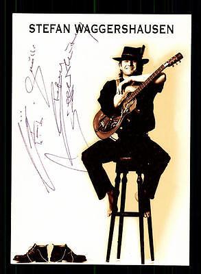 StoßFest Und Antimagnetisch Stefan Waggershausen Autogrammkarte Original Signiert ## Bc 73891 Wasserdicht Musik