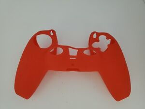 NEW RED  Silicone Grip Case Cover sleeve For Playstation 5 PS5 Controller    #P1