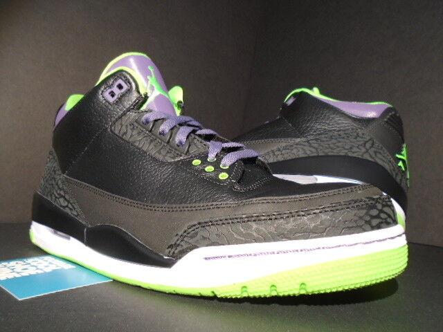 Nike Air Joker Jordan Iii All 3 Retro Joker Air All Iii Star Cemento Negro faa550