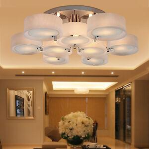 Image Is Loading Top Modern Round Acrylic Chandelier Lighting Pendant Lights