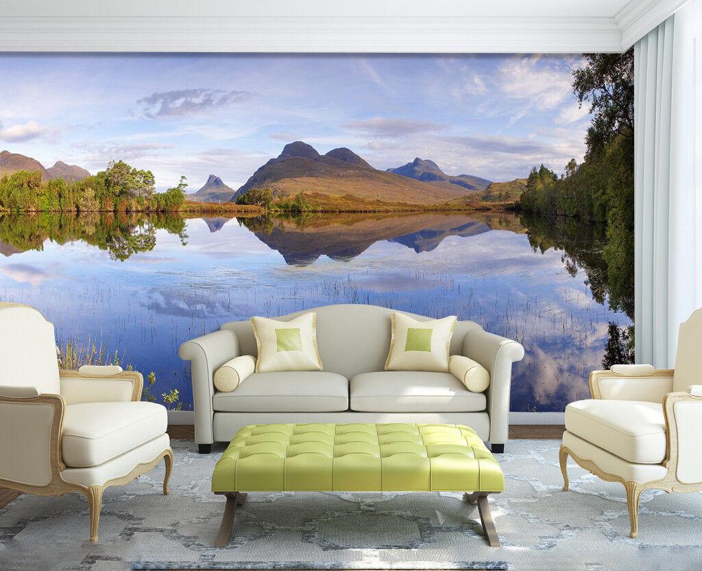 3D Himmel Berg Natürlich 799 Tapete Wandgemälde Tapeten Bild Familie DE Lemon