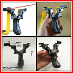 Slingshot-Wrist-Catapult-BIG-Rubber-Band-Outdoor-Hunting-Tools-Laser-Aiming-Hunt