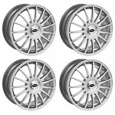 4 x Team Dynamics Silver Monza R Alloy Wheels - 4x108 | 15x6.5"