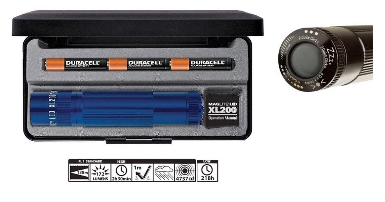 Mag lite  XL200 torcia led-5 usi  strobo-sos-nite lite-signal-hiht power(172 L.)