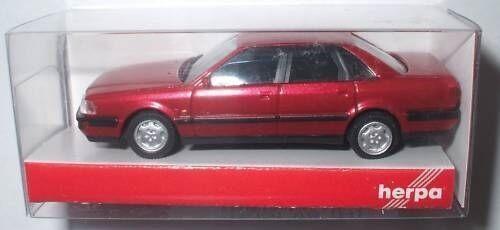 herpa  033961  1:87  Audi V8® metallic rot