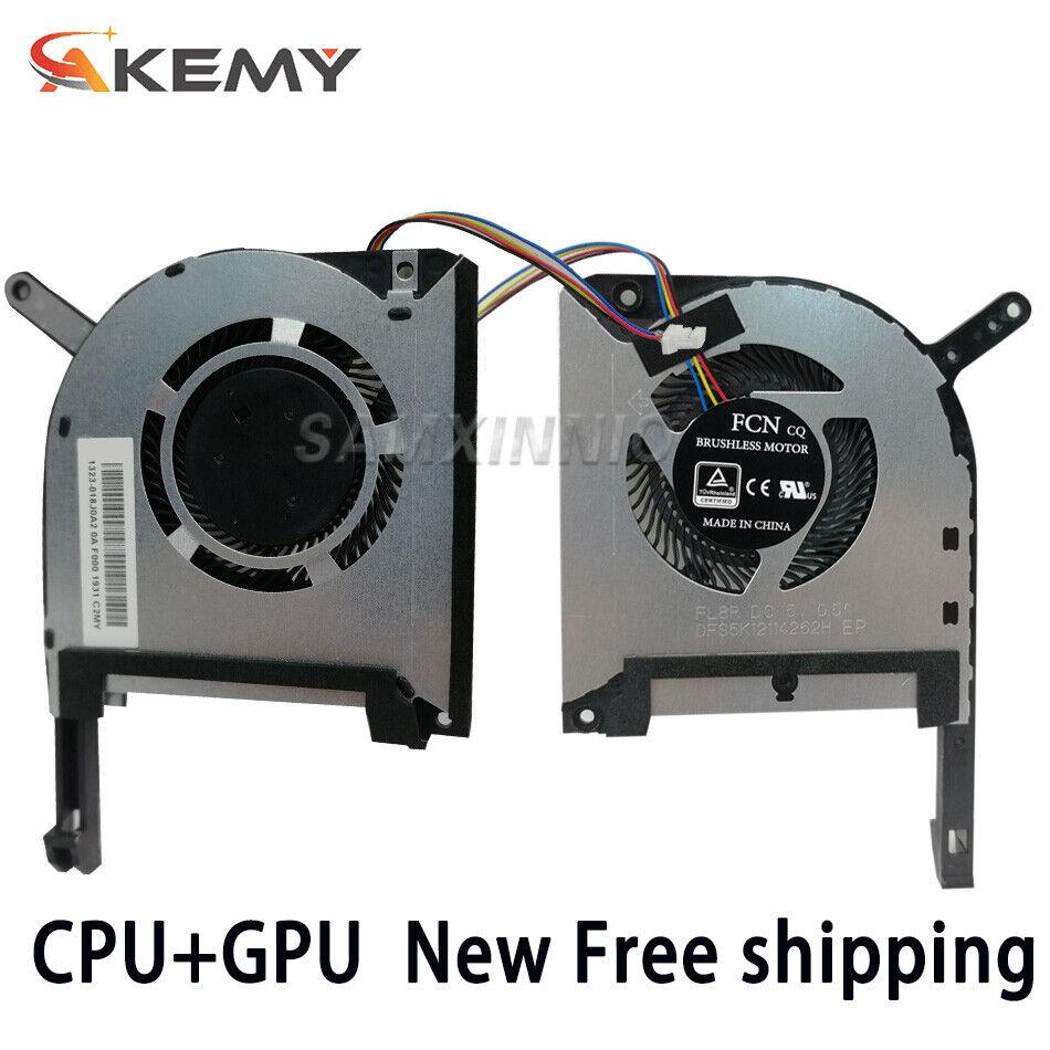 New for Asus TUF Gaming FX705D FX705DT FX705DU FX705DD CPU GPU cooling Fan