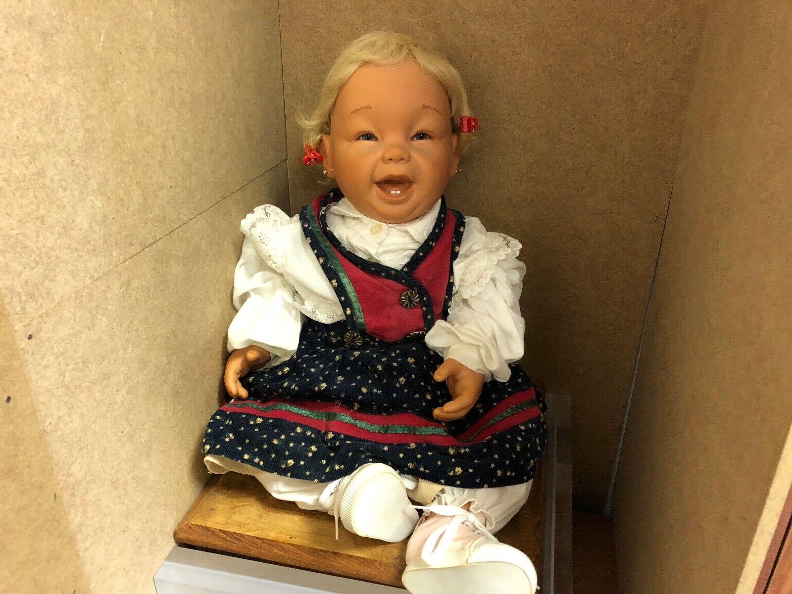 Artistas muñeca muñeca de vinilo 60 cm.