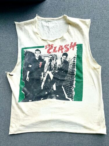 The Clash t shirt vintage 1977