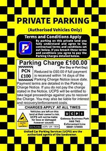 No-Parking-Sign-Private-Parking-Sign-Car-Park-Enforcement-No-Wheel-Clamp
