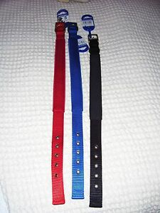 Ancol-Padded-Fabric-Air-Hole-Dog-Collar-3-colours-4-sizes