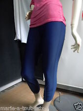 JULIE MODE MADE IN ITALY CALECON COLLANT BLEU MARINE TAILLE L 42/44 NEUF !!!