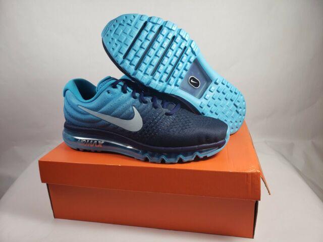 Nike Air Max 2017 Running Shoes Binary Glacier Blue (849559 404) INCLUDES BOX!