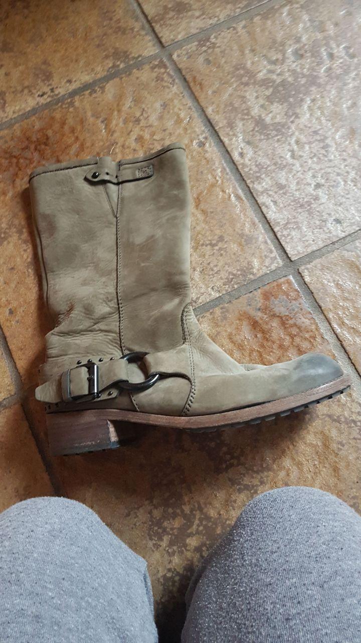 Kennel & dunkelgrün Schmenger 6.5 Stiefelette Boots dunkelgrün & Topzustand neuwertig e5de68