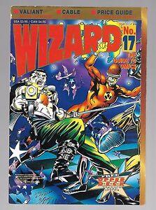 wizard the guide to comics dec 1992 vol 1 valiant bloodshot cover rh ebay com Superman Comic Price Guide Wizard Price Guide
