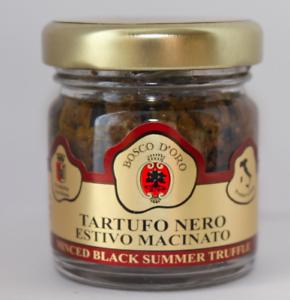 Minced Black Summer Truffles 30g