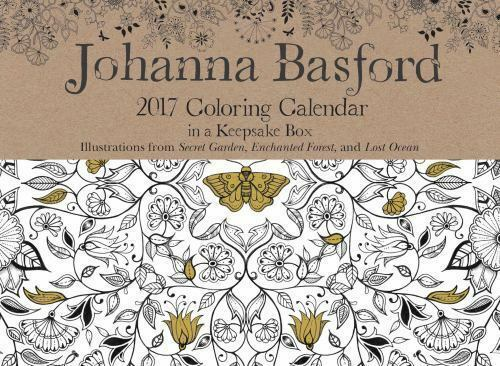 Johanna Basford 2017 Coloring Day To Day Calendar By