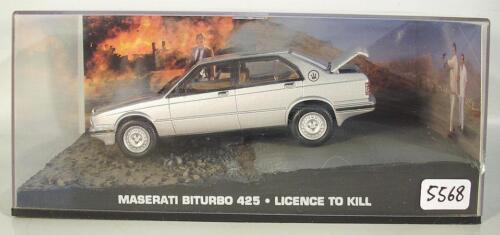 James Bond 007 Collection 1//43 Maserati Biturbo 425 Licence to kill in Box #5568
