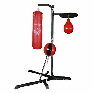 TurnerMAX Speed Ball Boxing Platform Punching Stricking Dodge bag Hanging Workout