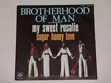 45 tours SP - BROTHERHOOD OF MAN - MY SWEET ROSALIE - 1976