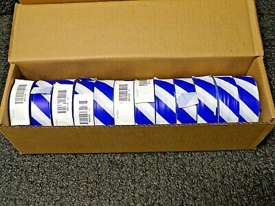 PRESCO PRODUCTS CO SWB-200 Flagging Tape,White//Blue,300ft x 1-3//8In
