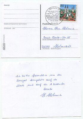 08540 - Mi.nr. 1848 - Dom Zu Halberstadt - Ersttagsstempel - Berlin 7.3.1996 Dinge Bequem Machen FüR Kunden