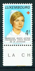 Luxemburg Princess Marie Astrid Red Cross Youth President 1974 MNH